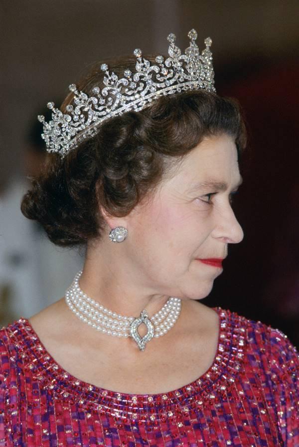 Rainha Elizabeth II em 1983