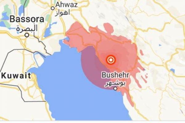 Terremoto atinge sul do Irã