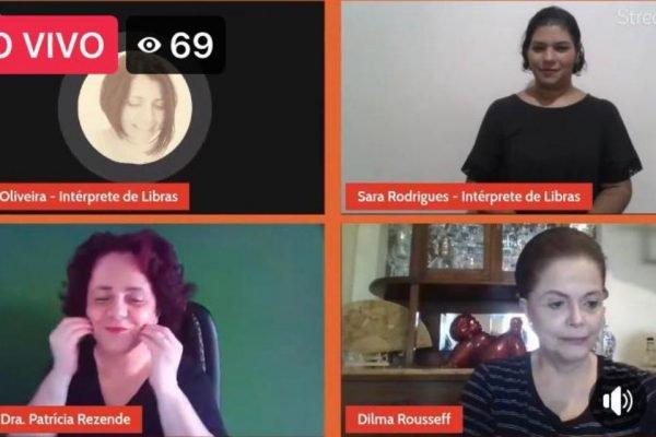 Dilma Rousseff em live