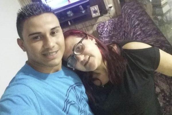 Anderson Moraes, suspeito de matar a mãe, Francisca Moraes