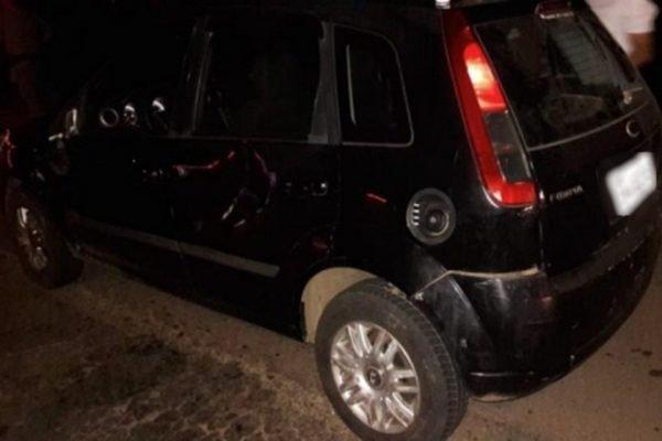 carro de motorista de aplicativo que morreu atropelado