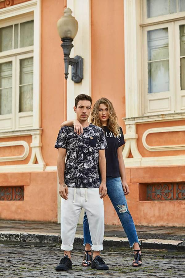 Di Ferrero e Sasha Meneghel para Coca-Cola Jeans