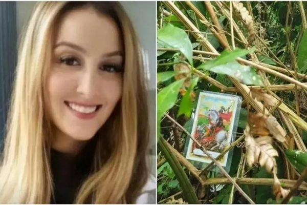 A médica Mariana Fossati foi encontrada com uma imagem de São Jorge