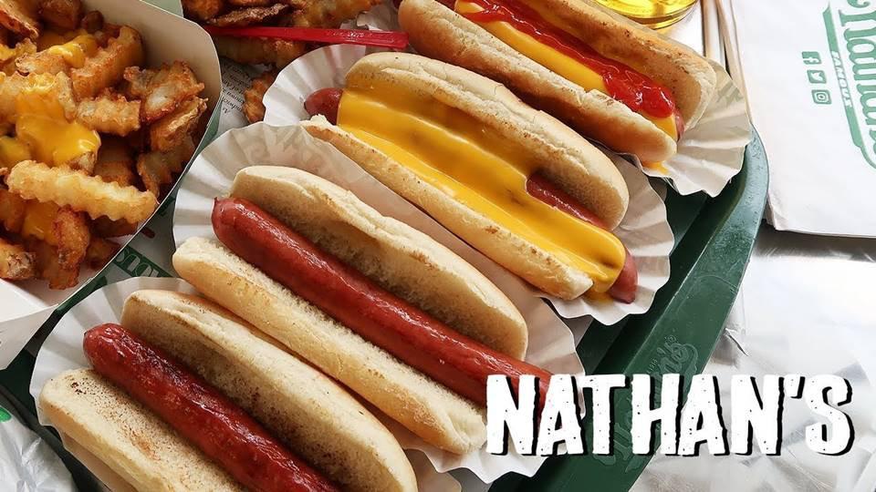 Direto dos EUA: rede de hot dogs Nathan's Famous ...