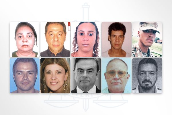 Brasileiros procurados pela Interpol