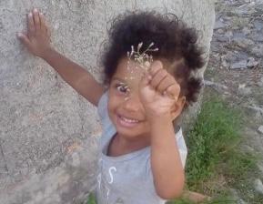 Ketelen Vitória Oliveira da Rocha, de 6 anos, criança foi agredida e torturada pela mãe e a madrasta em Porto Real, município do Rio de Janeiro
