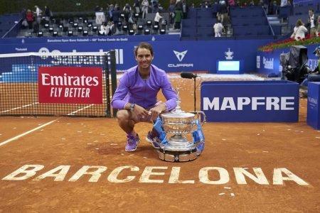 Rafael Nadal é campeão em Barcelona