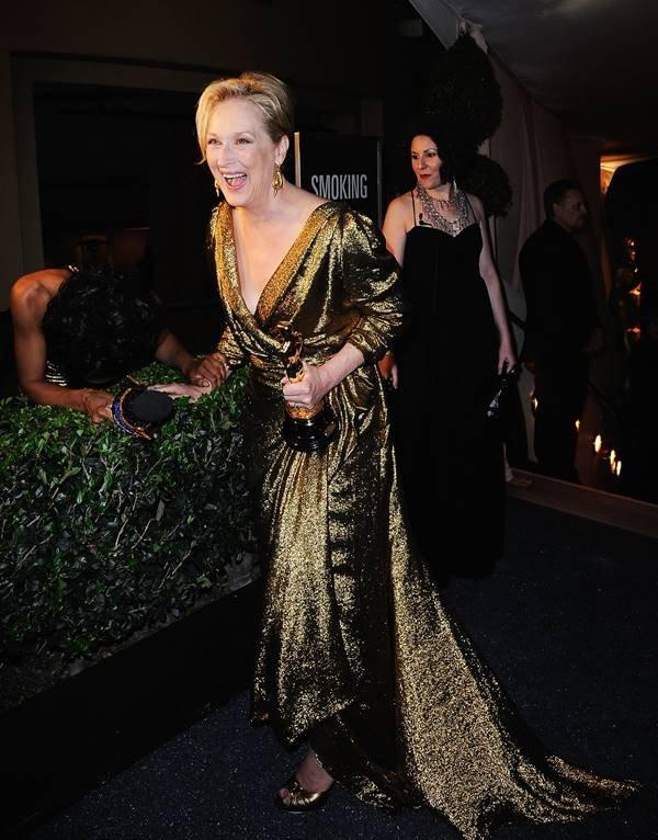 Meryl Streep in Lanvin agli Oscar 2012