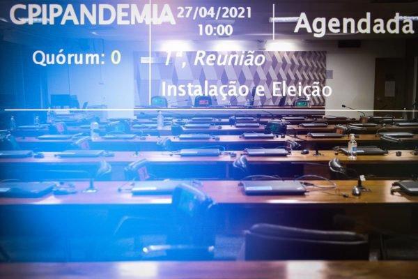 Plenário 03 no Senado Federal onde será a Comissão Parlamentar de Inquérito (CPI) da Pandemia 10