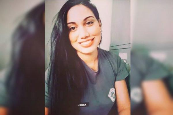 Jéssica Paulo do Nascimento, de 28 anos, que denunciou um tenente-coronel por assédio sexual e ameaças de morte