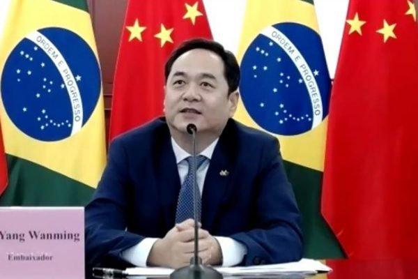 embaixador da China Yang Wanming