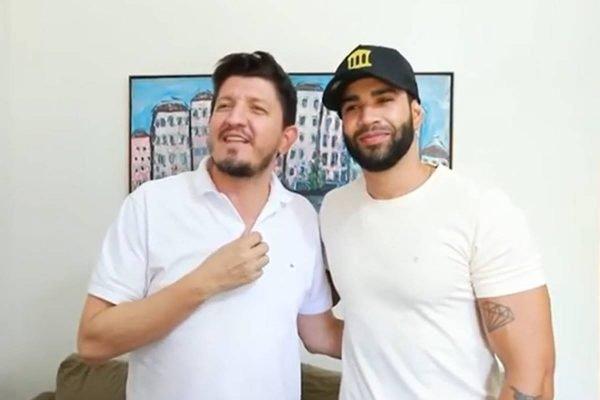 cantor gusttavo lima recebe convite do PSC para se candidatar em 2022