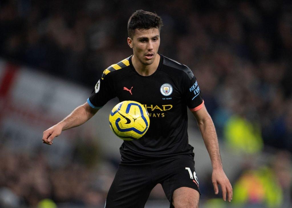 Rodri, jogador do Manchester City