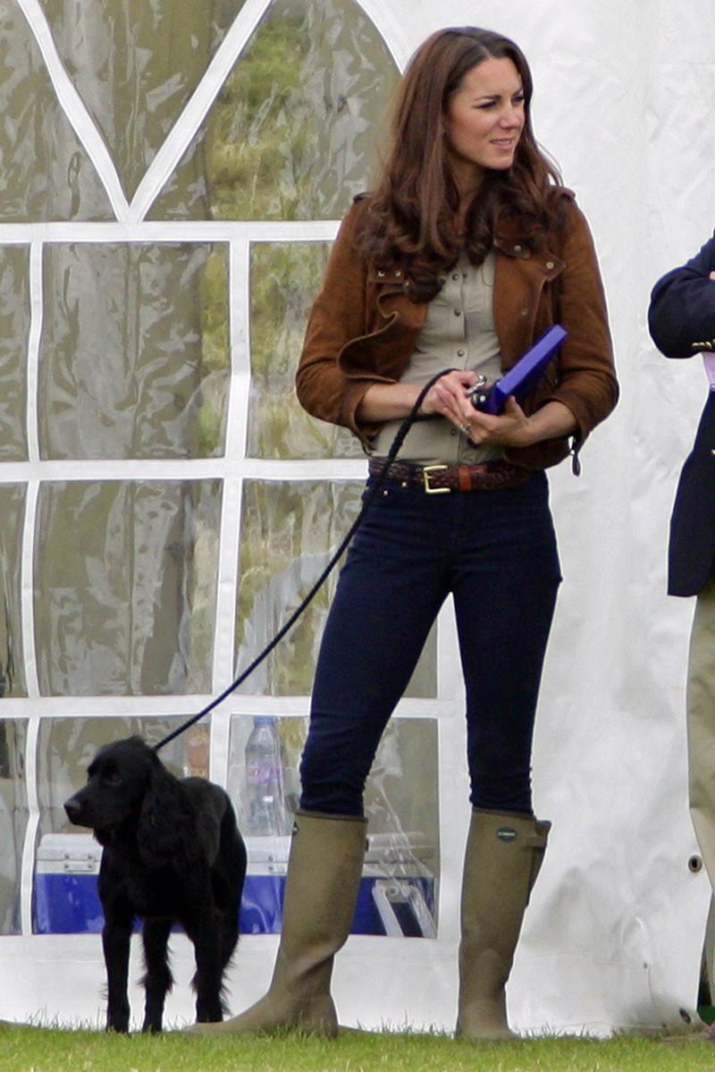 Kate Middleton e Lupo