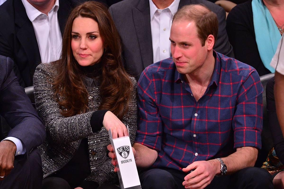 Kate Middleton e príncipe William