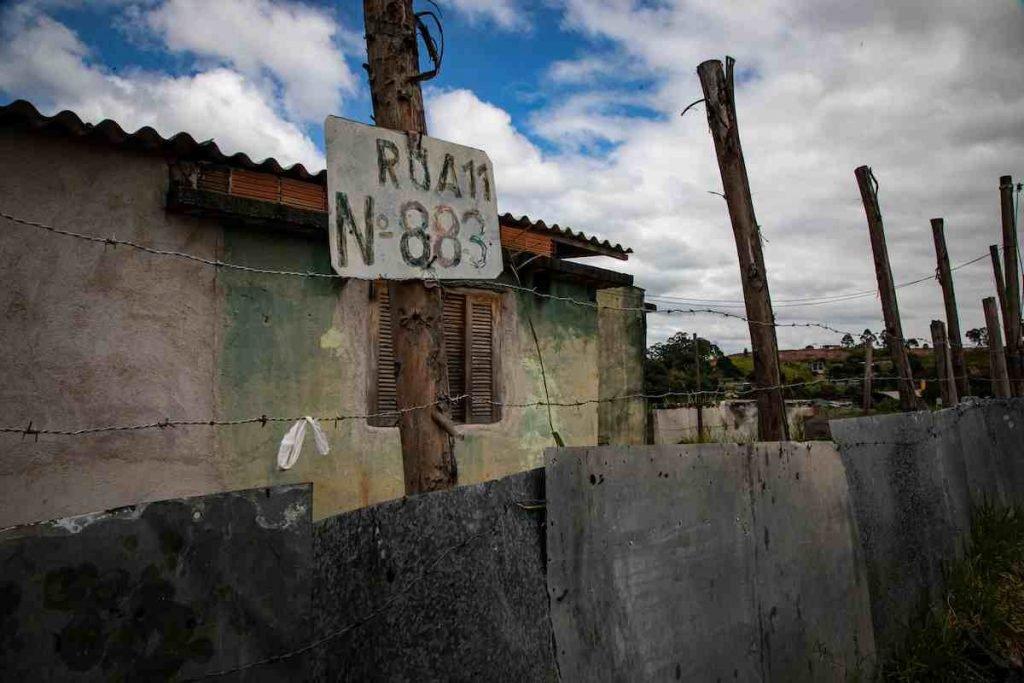 Casa da menina Ketelen Vitória Oliveira da Rocha, de 6 anos, espancada e morta em Porto Real, no Rio