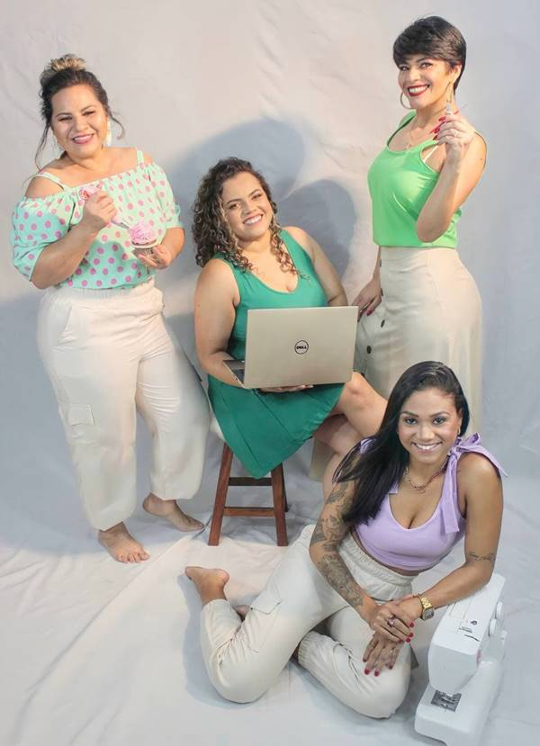 Look da coleção Empreendedorismo Feminino, da VitrinesDay