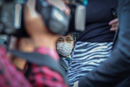 São Paulo - Ministro da Saúde Marcelo Queiroga evitou falar com a imprensa em dia que Brasil atinge marca de 400 mil mortos (7)