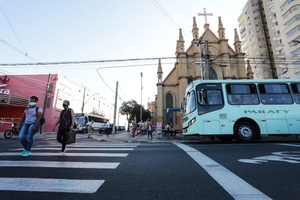 Cidade de Araraquara, no interior de São Paulo, após lockdown