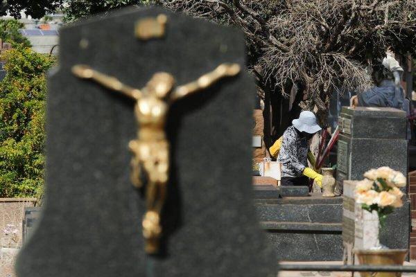 Cemitério São Bento, em Araraquara
