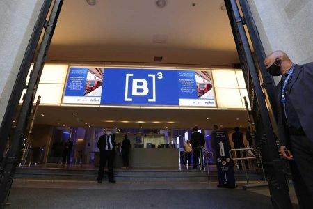 B3 - Bolsa de Valores do Brasil em São Paulo