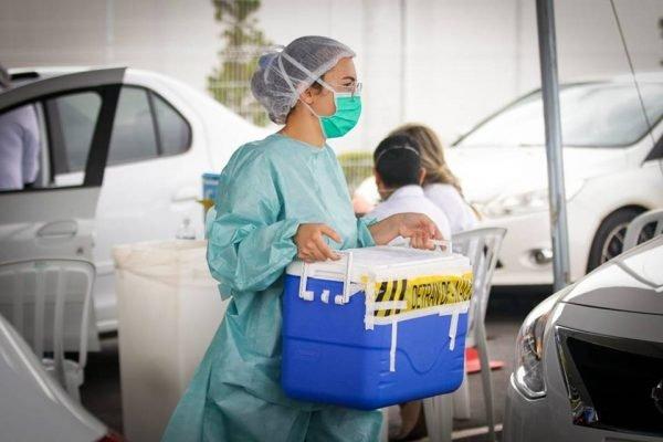 Vacinação contra Covid em Águas Claras