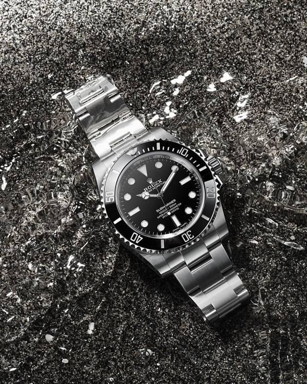 Relógio Submarine de segunda mão, da Rolex (o de 40mm)