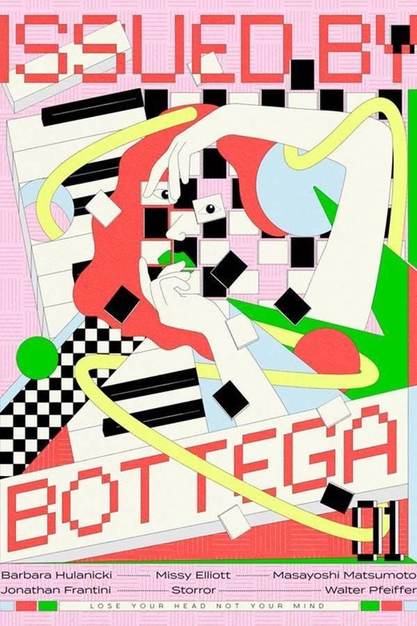 Capa da primeira edição da revista Issued by Bottega, da Bottega Veneta