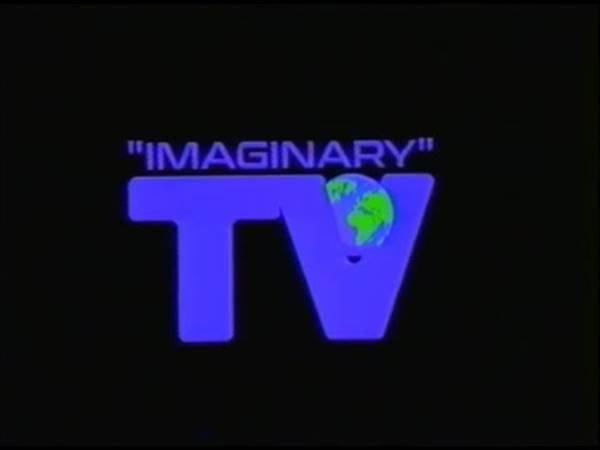Logotipo da Imaginary TV, iniciativa da Off-White