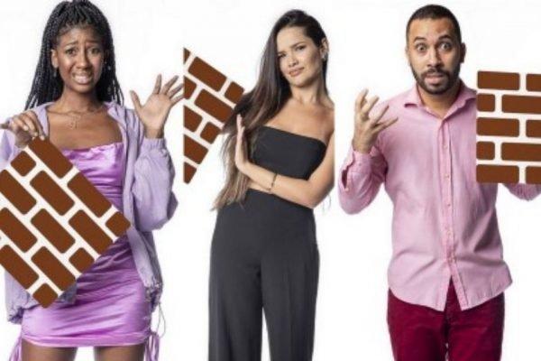 Paredão BBB21 Camilla, Juliette e Gilberto