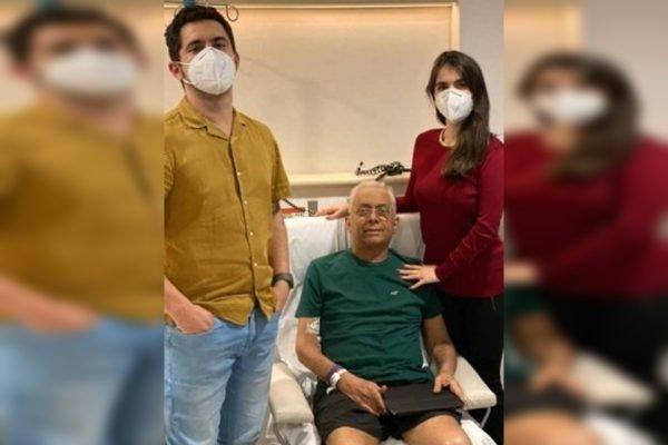 Transplantado de pulmão por causa da Covid