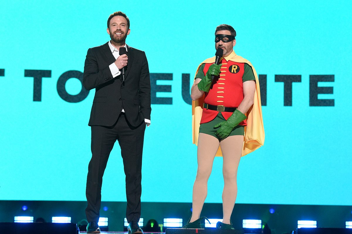 Ben Affleck e Jimmy Kimmel - Global Citizen VAX LIVE: The Concert To Reunite The World