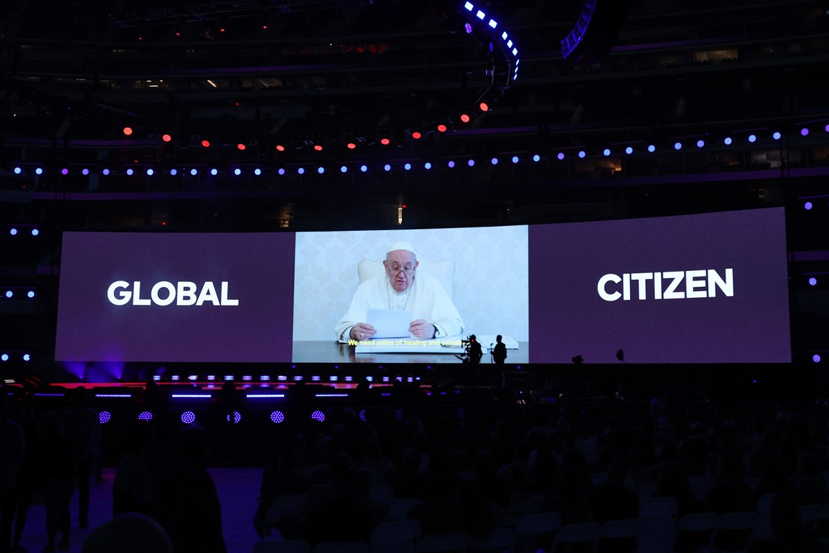 Papa Francisco - Global Citizen VAX LIVE: The Concert To Reunite The World