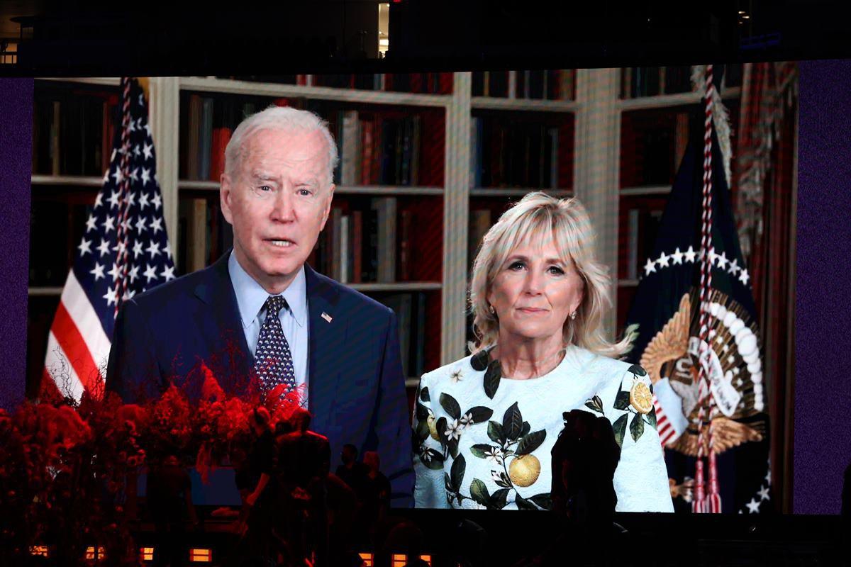 Joe e Jill Biden - Global Citizen VAX LIVE: The Concert To Reunite The World
