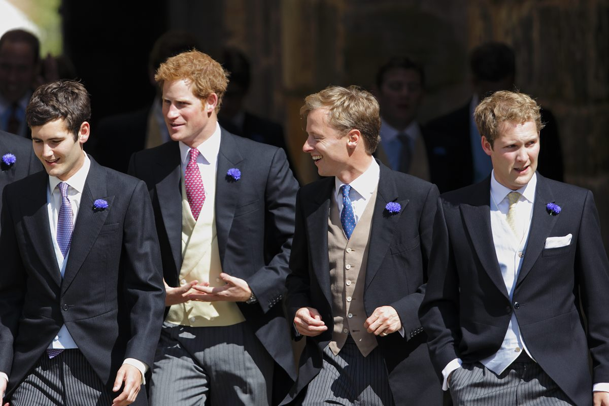 Príncipe Harry e George Percy
