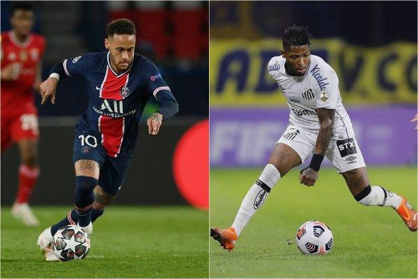 Neymar e Marinho