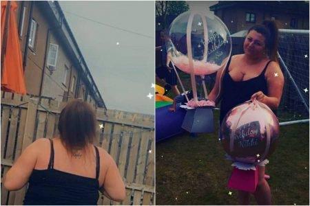 Escocesa fica sem R$ 800 amarrados a balão que voou em surpresa de aniversário