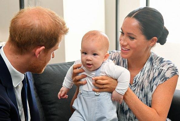 Meghan, Harry e Archie
