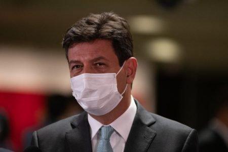 Senadores Randolfe Rodrigues e Renan Calheiros deixam a CPI ao do ex ministro Luiz Henrique Mandetta