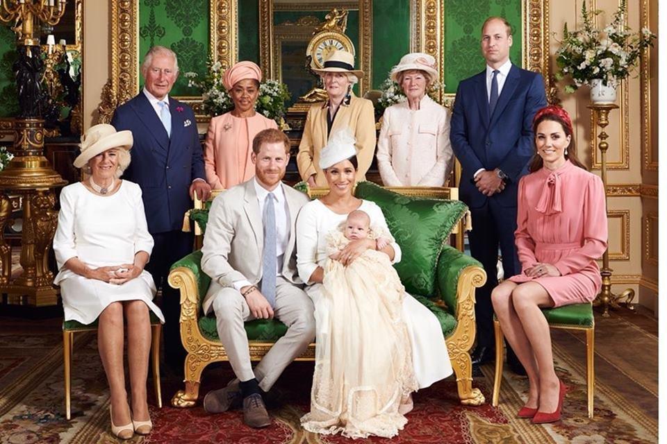 Archie e família real