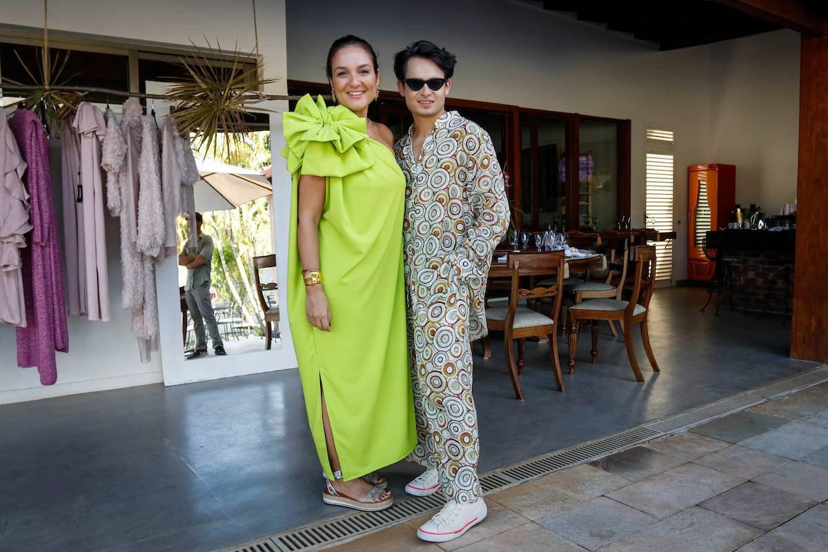 Brasília-DF. Mônica Moura arma evento com o designer Rafael Chaouiche. Fotos: Arthur Menescal/Especial Metrópoles