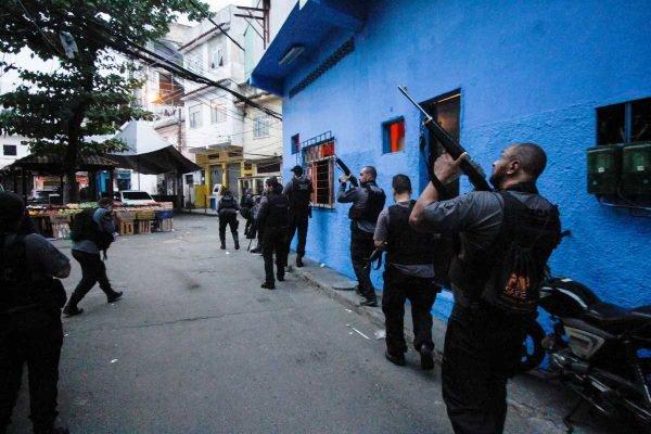 Operação policial em Jacarezinho, Rio de Janeiro
