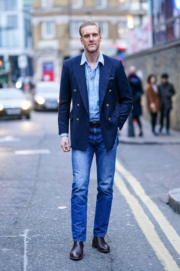 Look de street style em Londres