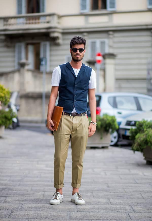 Look de street style em Florença
