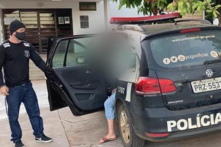 goias mulher é presa por furtar R$ 100 mil da empresa que trabalhava