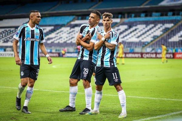 Grêmio bate Aragua por 8 x 0 pela Copa Sul-Americana