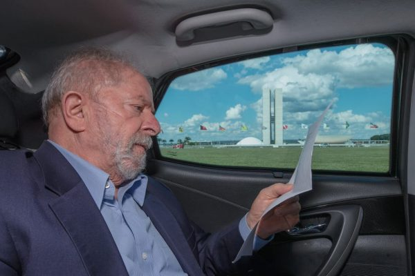 Ex-presidente Luiz Inácio Lula da Silva, em Brasília