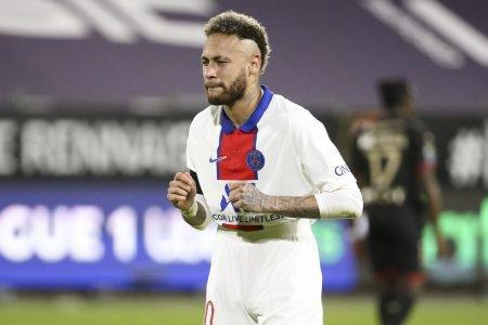 Neymar comemoração PSG