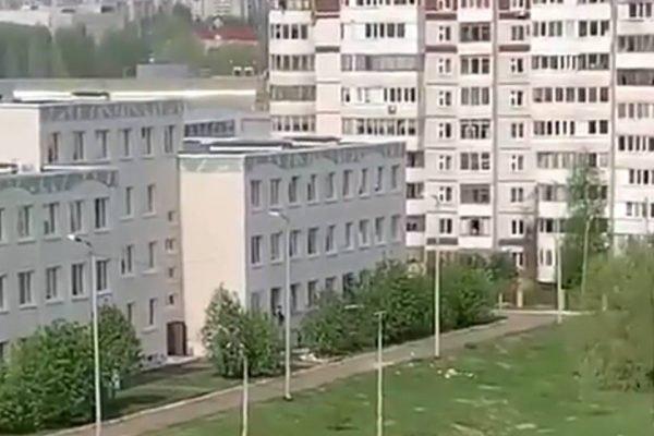 tiroteio em escola na Rússia