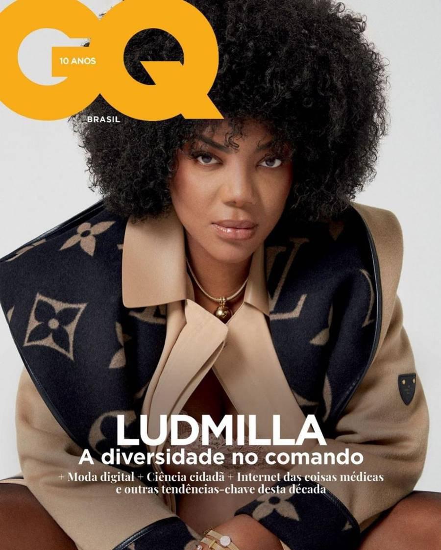ludmilla na capa da revista gq